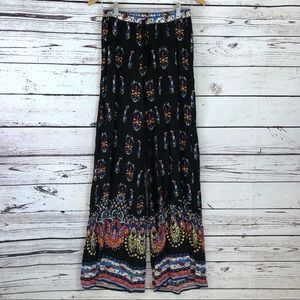 Flying Tomato Palazzo Wide Leg Printed Pants